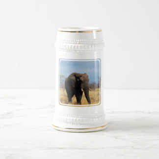 Pachyderm Beer Stein Coffee Mug