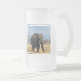 Pachyderm Frosted Beer Mug