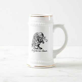Pachyderm's Canon Violin playing Elephant Fiddle Beer Steins