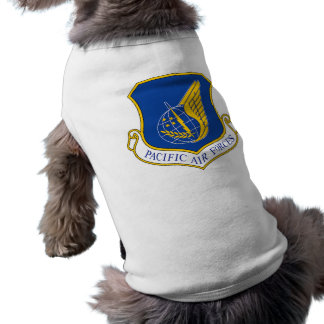 Pacific Air Forces Insignia Pet T Shirt