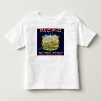 Pacific Apple Crate Label T Shirt