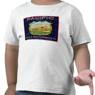 Pacific Apple Crate Label Tshirts