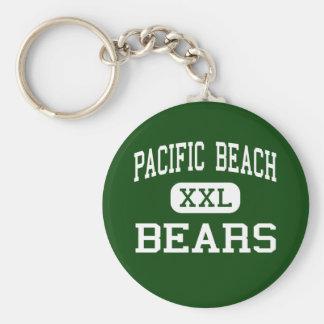 Pacific Beach - Bears - High - San Luis Obispo Basic Round Button Key Ring