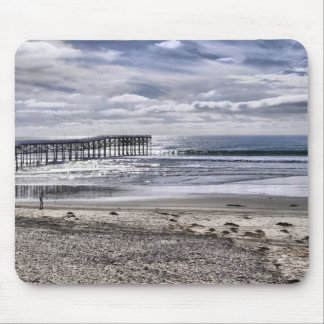 Pacific Beach Pier Mouse Mat