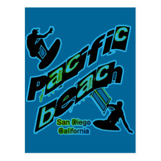 Pacific Beach Postcard