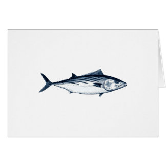Pacific Bonito Logo Card