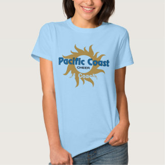 pACIFIC cOAST3x3jpg, #1 Coach! T Shirts