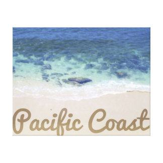 Pacific Coast Gallery Wrapped Canvas