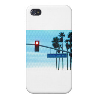 Pacific Coast Highway 1 Sign California Beach Sky iPhone 4/4S Cases