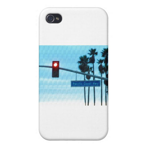 Pacific Coast Highway 1 Sign California Beach Sky iPhone 4/4S Case