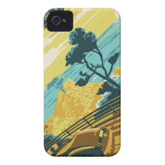 Pacific Coast Highway iPhone 4 Case-Mate Cases