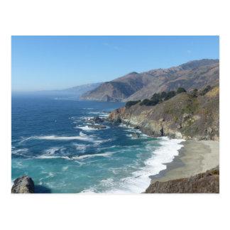 Pacific Coast Highway Postcard