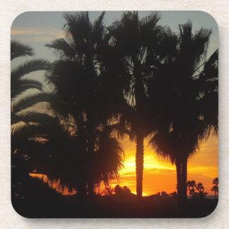 Pacific Coast Sunset Coaster