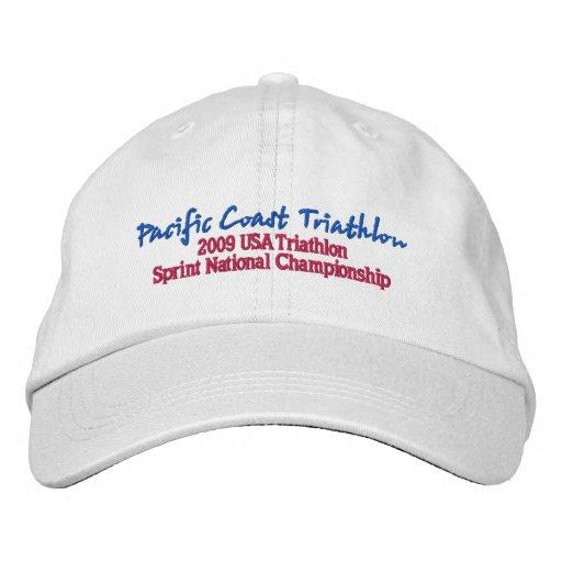 Pacific Coast Triathlon Embroidered Hat