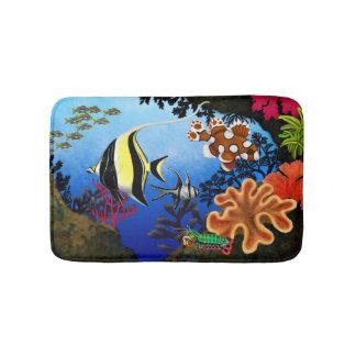 Pacific Coral Reef Bath Mat