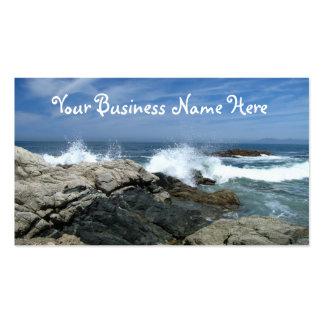 Pacific Crashing In Double-Sided Standard Business Cards (Pack Of 100)