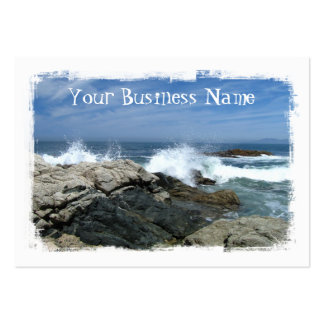 Pacific Crashing In Business Card Templates