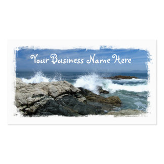 Pacific Crashing In Business Cards