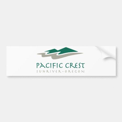 Pacific Crest Bumper Sticker