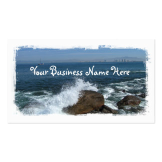 Pacific Froth Pack Of Standard Business Cards