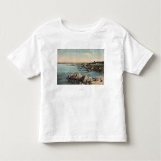 Pacific Grove, CA - Lovers Point, Pacific Toddler T-Shirt