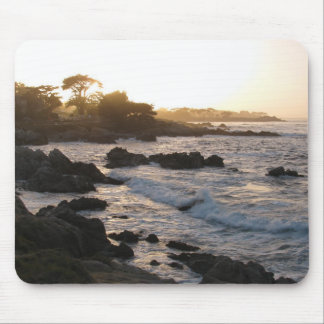 Pacific Grove Sunset Mouse Mat