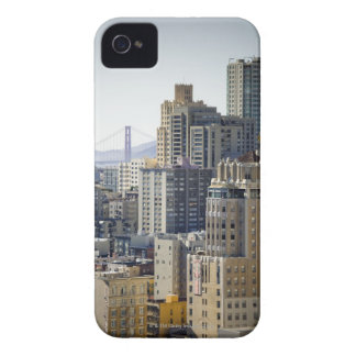 Pacific Heights and Golden Gate Bridge iPhone 4 Cover