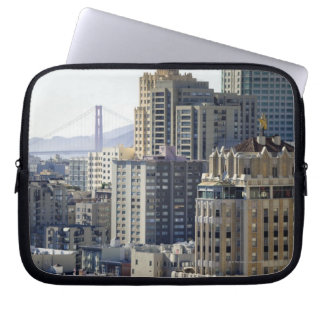 Pacific Heights and Golden Gate Bridge Laptop Sleeve
