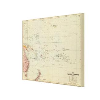 Pacific Islands Canvas Print