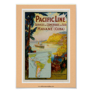 Pacific Line Poster