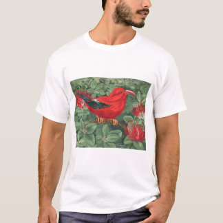 Pacific Meeting - fern and bird T-Shirt