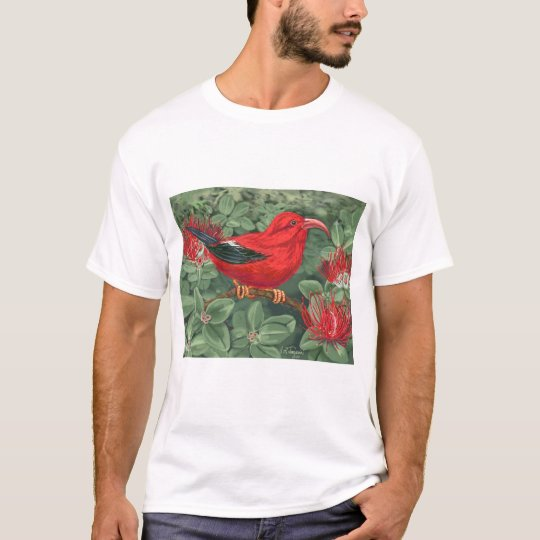 Pacific Meeting - fern and bird T-Shirt