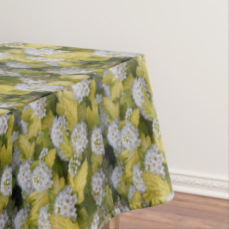 Pacific Ninebark Floral Tablecloth