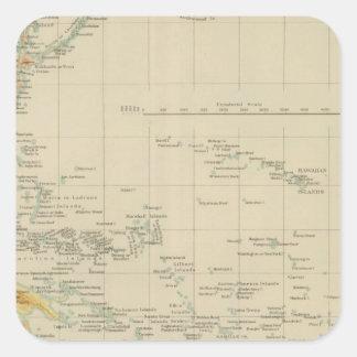 Pacific No 1 Square Sticker