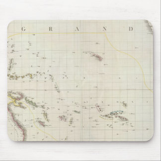 Pacific North American Map Mouse Mat