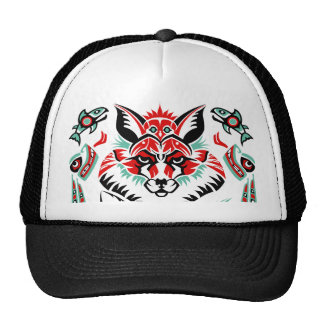 Pacific North Coastal Native American Indian Fox Cap