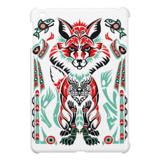 Pacific North Coastal Native American Indian Fox iPad Mini Case