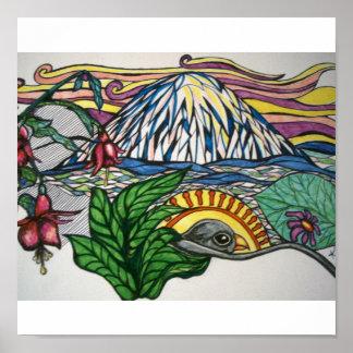 Pacific Northwest Dream Poster