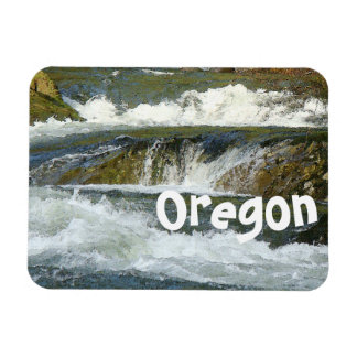 Pacific Northwest Fisherman River Oregon Magnet