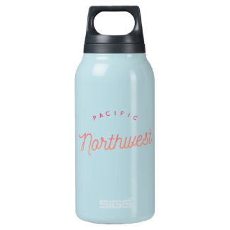 Pacific Northwest Hot & Cold Bottle Teal