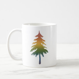 Pacific Northwest Rainbow Tree Mug