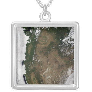 Pacific Northwest region of the United States Silver Plated Necklace