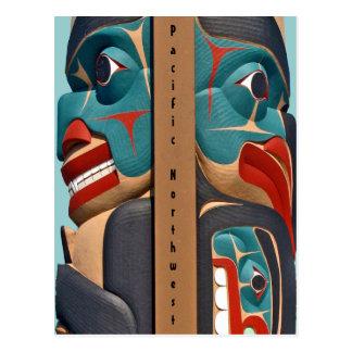 Pacific Northwest Totem Postcard