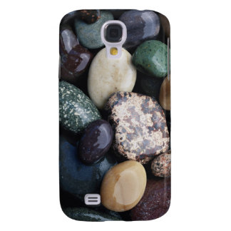 Pacific Northwest USA, Colorful river rocks Galaxy S4 Case
