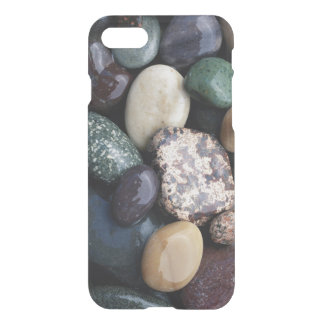 Pacific Northwest USA, Colorful river rocks iPhone 8/7 Case