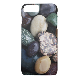 Pacific Northwest USA, Colorful river rocks iPhone 8 Plus/7 Plus Case