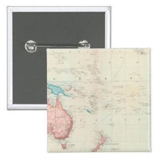 Pacific Ocean 10 15 Cm Square Badge