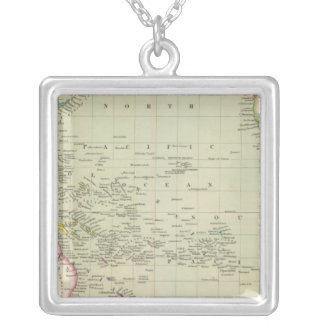 Pacific Ocean 11 Silver Plated Necklace