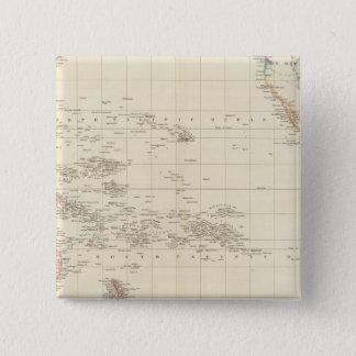 Pacific Ocean 15 Cm Square Badge