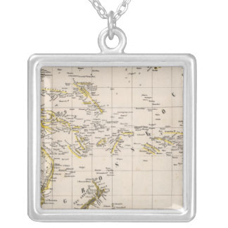Pacific Ocean 2 Silver Plated Necklace